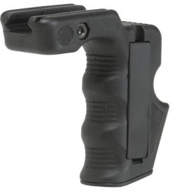 CAA Magazine Grip with Storage Black