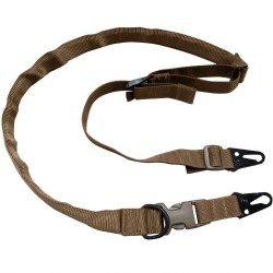 TAC SHIELD WARRIOR SLING 2PT. CONVERTABLE TO 1 PT. 1 1/4