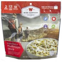WISE CAMPING NOODLES AND BEEF 6PK