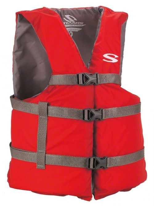 Stearns Classic Boating PFD Universal Red