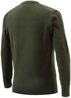 BERETTA MEN'S CLASSIC ROUND GREEN SWEATER