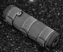 Silencerco SUPPRESSOR COVER 7.6-inch BLACK