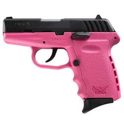 SCCY CPX-2 Black / Pink 9mm 3.1-inch 10Rd