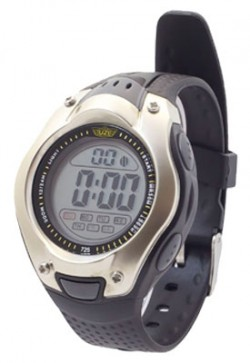 Smith & Wesson UZI DIGITAL SPORTS WATCH BLACK RUBBER WRIST STRAP