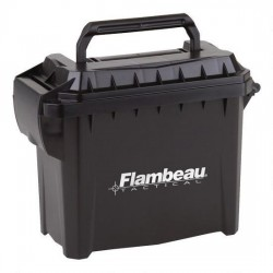 FLAMBEAU GEAR BOX TRAIL'R ROLLING BLACK 24.75X13.75X16