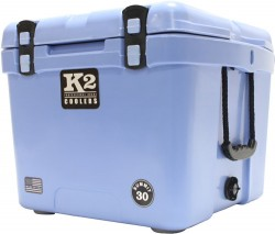 K2 Coolers Summit Series 30 Qt Cool Blue S30CB