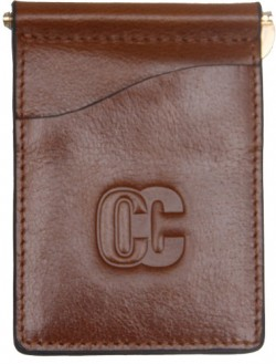 Concealed Carrie CONCEALED CARRIE MEN'S MONEY CLIP AGED BROWN LEATHER