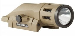 InForce WML Gen 2 White/IR 400 Lumen/100mW Weapon Light Flat Dark Earth
