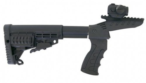CAA PISTOL GRIP W/PIC RAIL ABOVE RECEIVER ADJ TUBE CBS