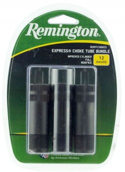 Remington Accessories Chokes for 12GA Improved Cylinder/Full/Modified Rem Choke Black