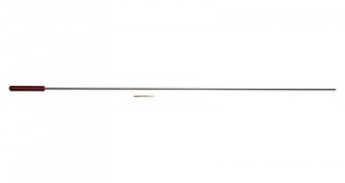 One Piece Stainless Steel Pistol Cleaning Rod .27 Caliber And Up
