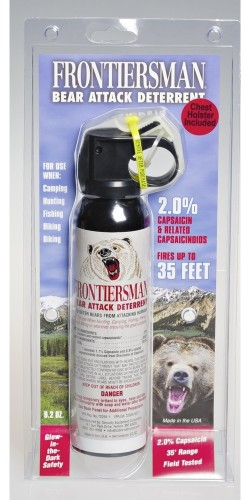 BEAR SPRAY 9.2OZ W/CHEST HLSTR