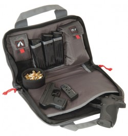 G-Outdoors 1308Pc Double Pistol Case Black
