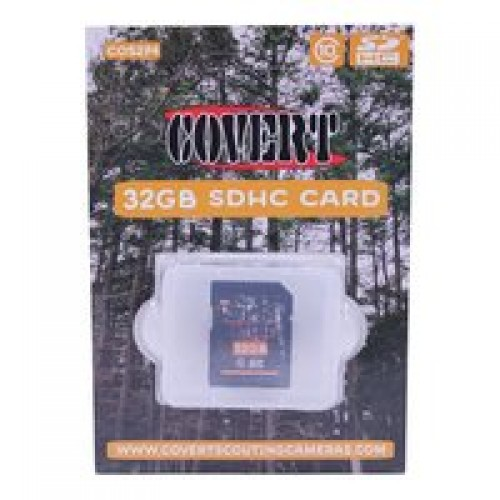 Covert Scouting Cameras 5274 SD Card 32GB, Class 10