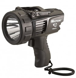 Streamlight Waypoint Rechargeable Flashlight - 120V AC, Black 44911