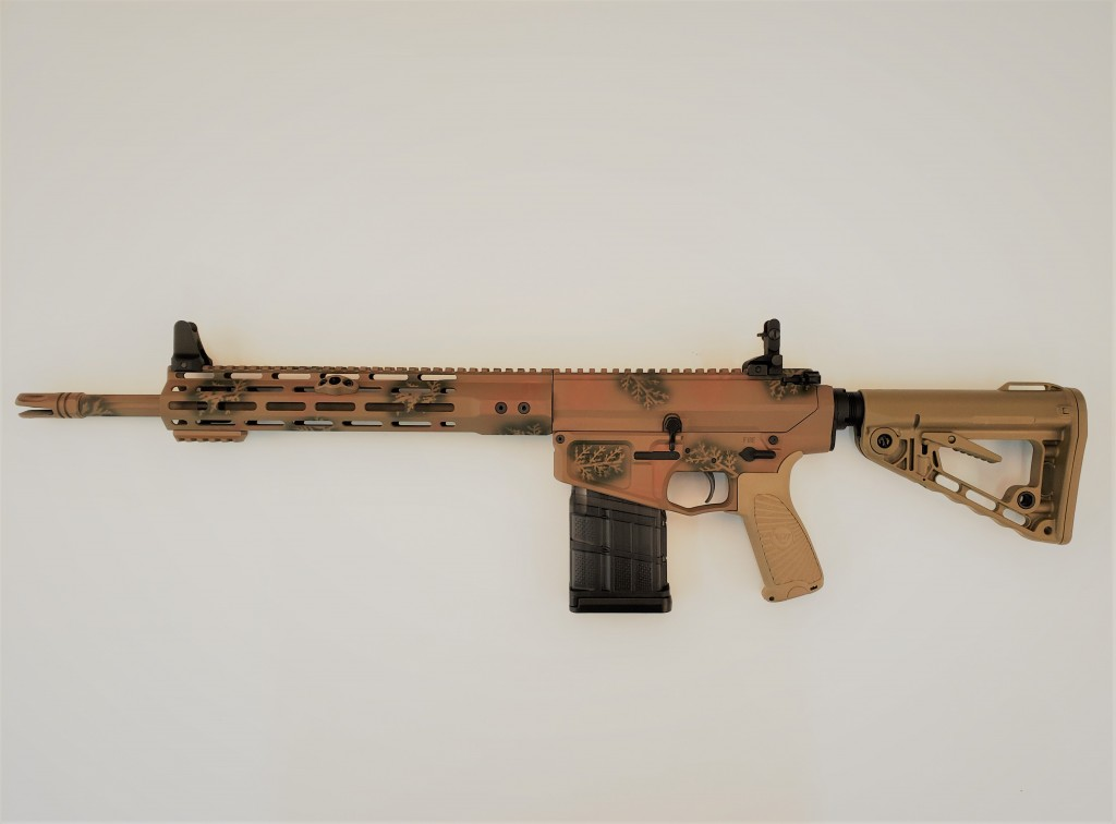 "Wilson Combat Paul Howe Carbine, 6.5 Creedmoor, 16"" Barrel, 1-8 Twist, Fluted, Camo"