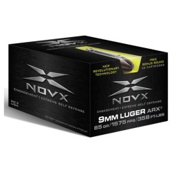 NovX 9MM 65GR ARX SST NAS3, 26 Rounds/Box
