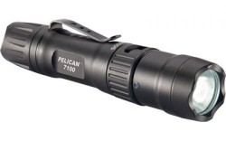 Pelican 7100, Led Li-Ion Rechargeable, Black, 071000-0000-110