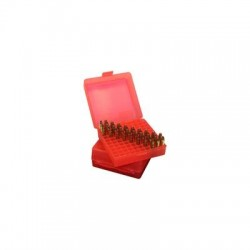 HINGED SHOTSHELL CASE 12GA 10RD - RED