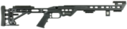 MASTERPIECE ARMS MPA LITE CHASSIS BLACK 6.5CREEDMOR 24 INCH 5RD SHORT ACTION