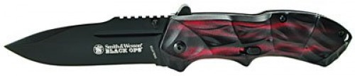 SW Knife SWBLOP3R Blackops Red