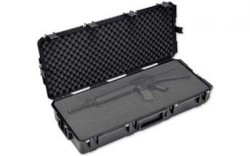 SKB Cases Injection Molded 42.5inx17inx7.5in Case w/Layered Foam, Wheels, Black, 3I-4217-7B-L