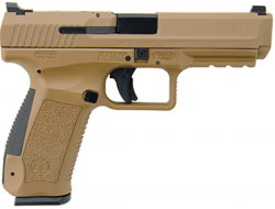 CENTURY ARMS CANIK TP9SA MOD.2 FDE 9MM 18+1 RD. W/2 18RD MAGS AND FULL ACCESSORY KIT