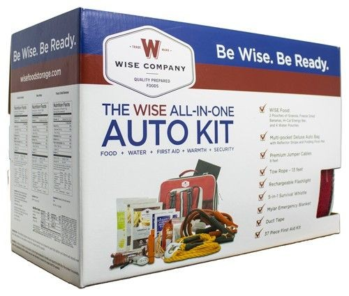 Wise Auto Emergency Kit