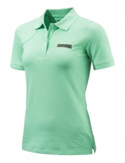 BERETTA WOMEN'S PIQUET POLO Small Green
