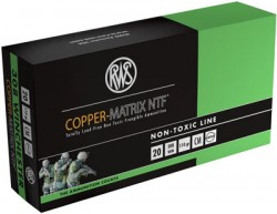 Ruag Ammotec USA Inc CM308 COPPER MATRIX 308 Win (7.62 NATO) NTF 110 GR 20Rds