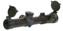 Hi-Lux 1-4x24 CMR-AK762 Tactical Scope w/ Red Illuminated Reticle, Black CMR-AK762-R