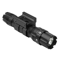NC Star Vism Pro Series LED Rail Mounted Flashlight