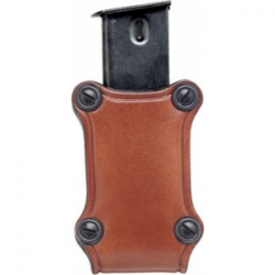 Hunter Leather Single Magazine Pouch Open Top - Single Stack Magazine