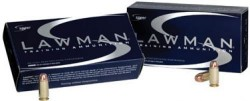 9mm - 124 Grain TMJ RN - Speer LAWMAN - 50 Rounds