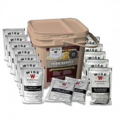 WISE FOODS  SEASONED MEAT 60 SERVING BUCKET GRAB & GO