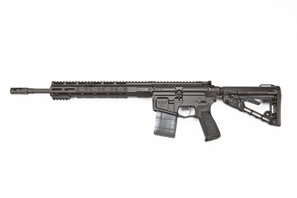 "Wilson Combat Ranger, 5.56 NATO, 16"" Barrel, 1-7 Twist, Black"