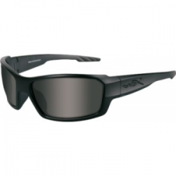 Wiley X WX Rebel Black OPS Sunglasses - Smoke Grey Lens / Matte Black Frame, ACREB01