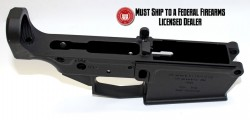 Lower Reveiver Alex Pro Firearms Stripped Precision Machined AR-10 Lower Receiver 308 Caliber Black