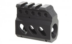 DoubleStar DSC Superlite Gas Block Black Matches Standard Mil Spec receiver for same-plane flip up front sight.