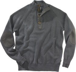 BERETTA MEN'S CLASSIC BUTTONS SWEATER SMALL DEEP FOREST