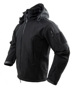 NCSTAR DELTA ZULU JACKET BLACK MEDIUM