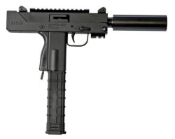 MasterPiece Arms Pistol 9mm 6-inch TB 30rd with Rail