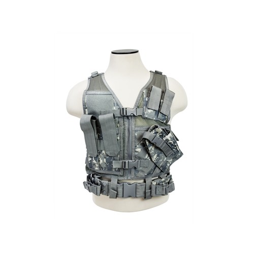 NCStar Tactical Vest Childrens/Digital Camo