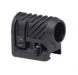 CAA Black1 Flashlight/Laser Mount .75 Black