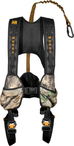Muddy The Crossover Combo Safety Harness - Black - XL
