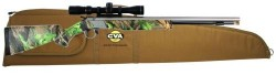 CVA Wolf Muzzleloader with 3-9x32 Scope/Gun Case Combo - Stainless Steel