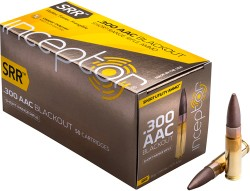 Polycase Inceptor SRR .300 Blk Ammunition 50 Rounds 88 Grain Cu/P Frangible