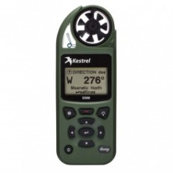 Kestrel 5500 Weather Meter with LiNK + Vane Mount, Olive Drab, 0855LVOLV