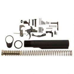 LWRC Deluxe Lower Parts Kit Black 556NATO