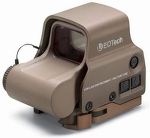 EOTech Transverse EXPS3 Red Dot Sight, Tan w/ 2-Dot Reticle EXPS3-2TAN